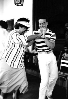 Bailando la salsa - Santiago de Cuba