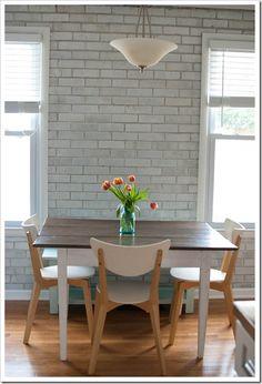 Future kitchen idea.  dining room chairs | Jaime Scott