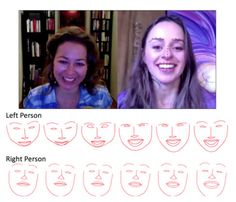 Facebook's AI lab has designed a (ro)bot animation that can mimic human facial expressions through an artificially intelligent algorithm – an algorithm that learned everything it knows from watching people talk to each other on Skype.  According to New Scientist, the AI watched hundreds of videos, learning the expressive nature of humans during Skype conversations – the non-verbal facial cues, like nodding, blinking, and smiling.