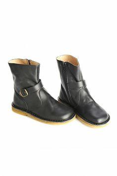 Pepe Black Biker Boots