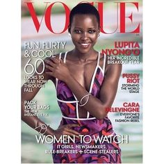 @lupitanyongo makes us proud! The Kenyan beauty graces the cover of #Vogue's July 2014 Issues. Lovely!  #fashion #LupitaNyongo #Africa #beauty #style #shedidit #yes