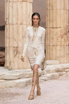 Karl Lagerfeld brought Ancient Greece to Paris.
