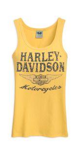 Harley-Davidson® Women's Tank - Yellow - 96277-12VW