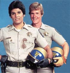 One of my favorite tv shows. The original CHiPs began in 1977 to 1983 and revolves around motorcycles cops of the California Highway Patrol. The series made household names of Erik Estrada and Larry Wilcox. Larry Wilcox, Childhood Tv Shows, My Childhood Memories, 1970s Childhood, Family Memories, Nostalgia, The Ateam, Sean Leonard, Tv Vintage