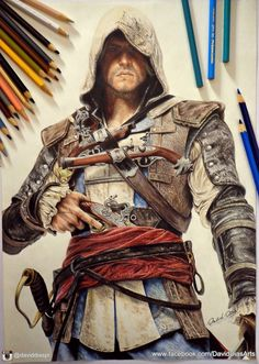 Edward Kenway - Assassin's Creed Black Flag by Daviddiaspr on deviantART