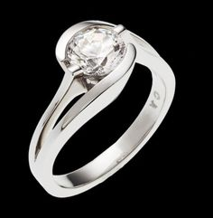 """""""Bellissima Plain"""" -  Available in White Gold, Yellow Gold, or Platinum."""