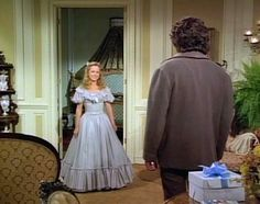 Melissa Sue Anderson as Mary Ingalls wears the most gorgeous ball gown ever!