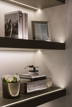 Huge fan of under lighting. Subtle. But makes a big difference. Want your space…