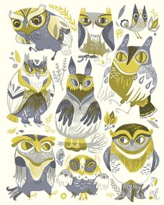 Have I ever mentioned how much I love owls?
