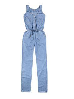 Macacão Feminina Em Jeans Com Cintura Marcada | Jardineiras | Feminino | Hering