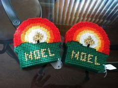 Handmade Christmas Noel Coasters (Set of 4)