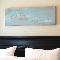 diy painted canvas