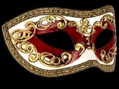 Occhi Masquerade Mask - Red