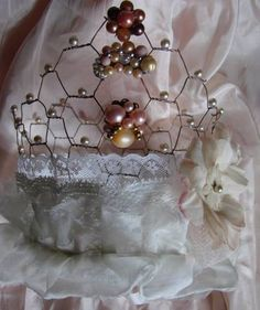 @ Andee for the Time Warp ball you go to - chicken wire tiara