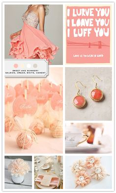 Nothing better than something sweet! Simple jewelry, lots of carnations, vintage cutlery, beautiful hair pieces, sweets as favors, shorts dresses… and Summer right around the corner!