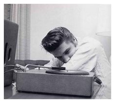Listening to Records.