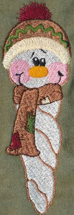Threadsketches' set Winter Friends - Christmas embroidery designs, Big Black Friday Sale!, snowman icicle