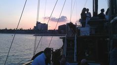 Enterprise event in a Schooner in Barcelona, during the sunset and with the sunset included!  www.itacadventure.com