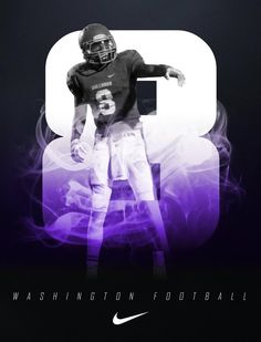 Washington Sports Images, Sports Art, Lettering Design, Branding Design, Sports Team Photography, National Signing Day, College Football Recruiting, Sports Marketing, Football Design