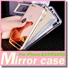 2016 Fashion Whole Protection Tpu Soft Cover Cases Electroplating Mirror Case For Iphone 6 Plus 6s 5s Samsung Galaxy S7 S6 Edge Cute Phone Cases Cheap Phone Cases From Dengz, $1.18| Dhgate.Com