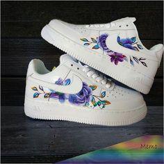 Custom Painted Shoes, Custom Shoes, Sneakers Fashion, Fashion Shoes, Fashion Outfits, Scrub Shoes, Nike Shoes Air Force, Nike Shoes Outfits, Adidas Shoes
