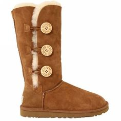 UGG Boots - Bailey Button Triplet - Chestnut - 1873