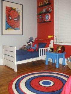 Bedroom, The Amazing Superhero Bedroom Ideas for Your Kids : marvel superhero bedroom ideas