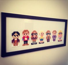 Hama Beads The Big Bang Theory  by PatrickPaperPictures