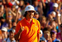 What a great way for Rickie Fowler to break into the winners circle... taking two guys in Sudden Death, including #1 in the World. Congrats Rickie!