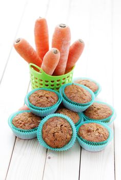 Carrot Oat Muffins | Tiny New York Kitchen
