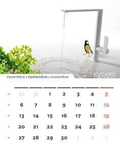Noviembre 2017 / November 2017 #calendario #2017 #TRESGriferia #Vallirana