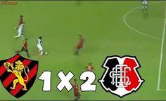Sport 1 x 2 Santa Cruz - GOLS - Copa do Nordeste 2017