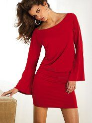 Drop waist dress...love the color.  Would like to see in it in Steel Gray and Eggplant, too!