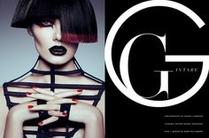 gothic fashion editorial - These Gothic fashion editorials range from vampiric ad campaigns to goth geisha portraits that feature theatrical styling and dynamic beauty looks....