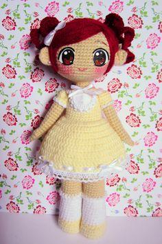 Spring flower ami doll by annie-88.deviantart.com on @deviantART