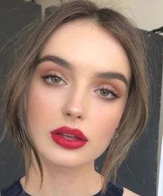 Soft Makeup Looks, Soft Eye Makeup, Natural Makeup For Brown Eyes, Makeup Looks For Brown Eyes, Smokey Eye Makeup, Simple Makeup, Skin Makeup, Smoky Eyeshadow, Eyeshadow Makeup