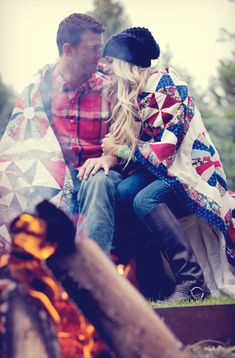 Idaho Falls Engagement Session Campfire Engagements