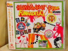 CD/Japan- PARLIAMENT FUNKADELIC P-FUNK Dope Dogs w/OBI RARE OOP ORIGINAL 1994 #Funk
