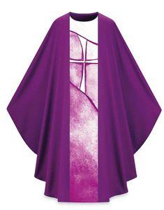 "Purple Vestment by Slabbinck - ""lumen fidei"" $495 http://henningers.com/slabbinck-purple-vestment-5159-0.html"