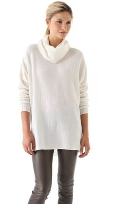 Fall - Vince Luxury Cowl Sweater