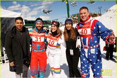 darren criss and fiancee mia swier hit the slopes for operation smile 194049852