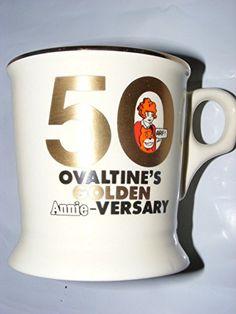 Vintage Ovaltine's 50th Golden Annie-Versary Mug Cup 1981 Little Orphan Annie Ovaltine http://www.amazon.com/dp/B00PAXKXJA/ref=cm_sw_r_pi_dp_6Dt.wb06BDA0Y