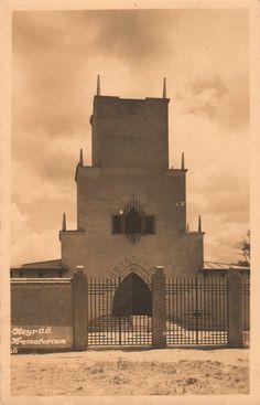 Koppelhuber, Franz - Krematorium (Crematorium), Steyr, Austria, 1926-1927