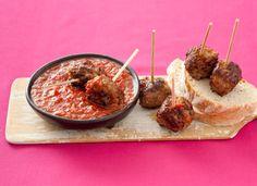 Spanish Meatballs - Summer Finger Food Recipes