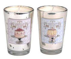 RÚSTICO & GLAM: Set de 2 Velas perfumadas