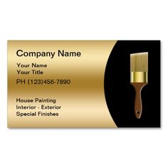 Painters business card pinterest business cards and business painter business cards colourmoves
