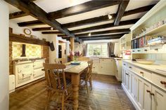 16th century period cottage for sale in Hampshire Recycled Fabric, Recycled Glass, English Cottage Interiors, Glass Cakes, 16th Century, Hampshire, Dining, Period, Home Decor
