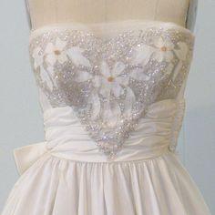 vintage ivory | bridesmaid dress