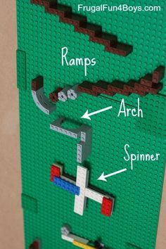 How to make a LEGO marble run. Great STEM engineering challenge for kids!