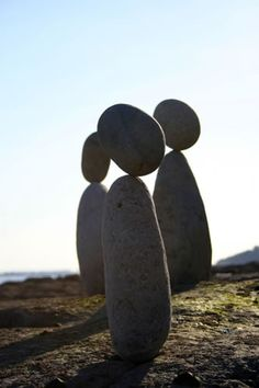 hitku: Stone Balancing by Adrian Gray